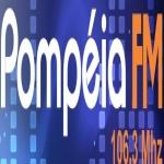Logo da emissora Rádio Pompéia 106.3 FM