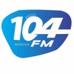 Logo da emissora Rádio Maria 104.9 FM