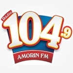 Logo da emissora R�dio Amorim 104.9 FM