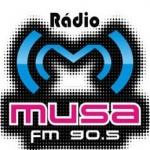 Logo da emissora R�dio Musa 90.5 FM