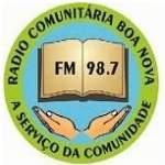 Logo da emissora R�dio Boa Nova 98.7 FM