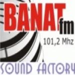 Logo da emissora Banat 101.2 FM