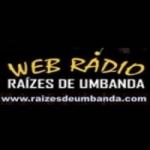 Logo da emissora Rádio Raízes de Umbanda