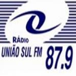 Logo da emissora Rádio União Sul 87.9 FM