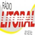 Logo da emissora R�dio Litoral 1460 AM