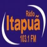 Logo da emissora Rádio Itapuã 103.1 FM