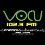 Logo da emissora Radio Vocu 102.3 FM