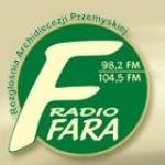 Logo da emissora Radio FARA 98.2 FM