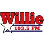 Logo da emissora Radio WAWC Willie 103.5 FM