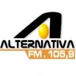 Logo da emissora R�dio Alternativa 105.9 FM