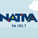 Logo da emissora R�dio Nativa 102.7 FM