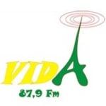 Logo da emissora R�dio Vida 87.9 FM