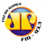 Logo da emissora Rádio Jovempan FM 105.1
