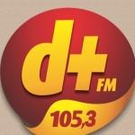 Logo da emissora Rádio Demais 105.3 FM