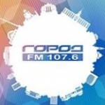 Logo da emissora Gorod 107.6 FM