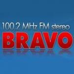 Logo da emissora Radio Bravo 100.2 FM