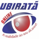 Logo da emissora Ubiratã Online
