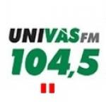 Logo da emissora R�dio Univas 104.5 FM