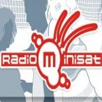 Logo da emissora Radio Minisat 98.5 FM