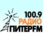 Logo da emissora Piter 100.9 FM