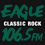 Logo da emissora Radio KEGX 106.5 FM