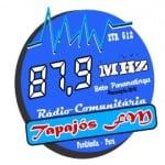 Logo da emissora Rádio Tapajós 87.9 FM