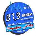 Logo da emissora R�dio Tapaj�s 87.9 FM