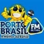 Logo da emissora Rádio Porto Brasil 88.7 FM