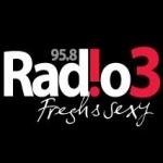 Logo da emissora Radio Tri 95.8 FM