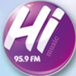 Logo da emissora Radio HI FM 95.9 FM