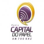 Logo da emissora R�dio Capital do Papel 700 AM