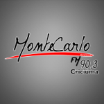 Logo da emissora R�dio Montecarlo 90.3 FM