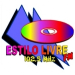 Logo da emissora Rádio Estilo Livre