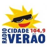 Logo da emissora R�dio Cidade Ver�o 104.9 FM