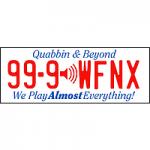 Logo da emissora Radio WFNX 101.7 FM