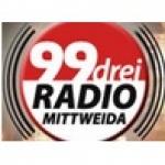 Logo da emissora 99drei Mittweida 99.3 FM