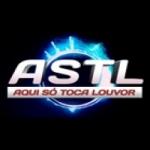 Logo da emissora Rádio Aqui Só Toca Louvor