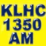 Logo da emissora KLHC 1350 AM