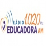Logo da emissora R�dio Educadora do Cariri 1020 AM