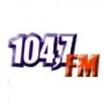 Logo da emissora Rádio 104.7 FM