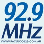 Logo da emissora Radio Pacifico 92.9 FM