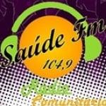 Logo da emissora Rádio Saúde 104.9 FM