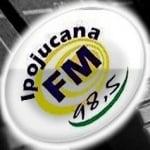 Logo da emissora R�dio Ipojucana 98.5 FM