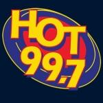 Logo da emissora Radio KHHK 99.7 FM