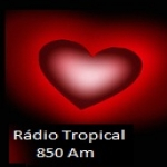 Logo da emissora Rádio Tropical 850 AM