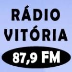 Logo da emissora Radio Vitória 87.9 FM