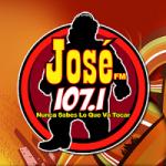 Logo da emissora Radio KMBX 107.1 FM