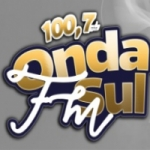 Logo da emissora Rádio Onda Sul 100.7 FM