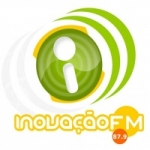 Logo da emissora Rádio Inovação 87.9 FM
