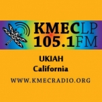 Logo da emissora Radio KMEC 105.1 FM